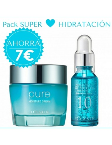 It's Skin Pack Súper Hidratación - Pure + Serum Power 10 Formula GF Effector