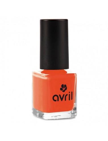 Esmalte de Uñas 7 Free Naranja Clémentine 574 de Avril