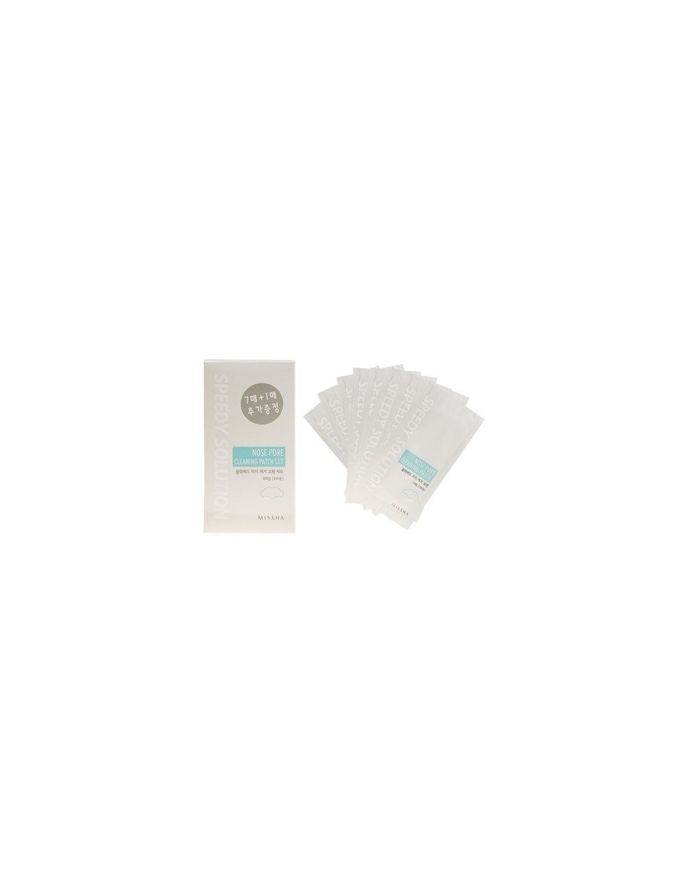 Parches de Limpieza de Poros MISSHA Speedy Solution Nose Pore Cleaning Patch Set
