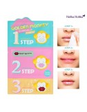Kit 3 pasos para Labios Secos HoliKa Holika Golden Monkey Glamour Lip