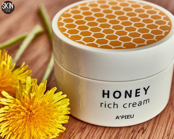 Apieu Honey Rich Cream Crema Nutritiva e Iluminadora