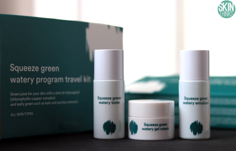 Kit de Viaje Squeeze Green Watery Travel Kit de E Nature