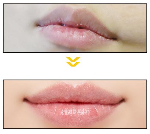 Parche para Labios secos y agrietados G9SKIN Vita Ampoule Lip Patch