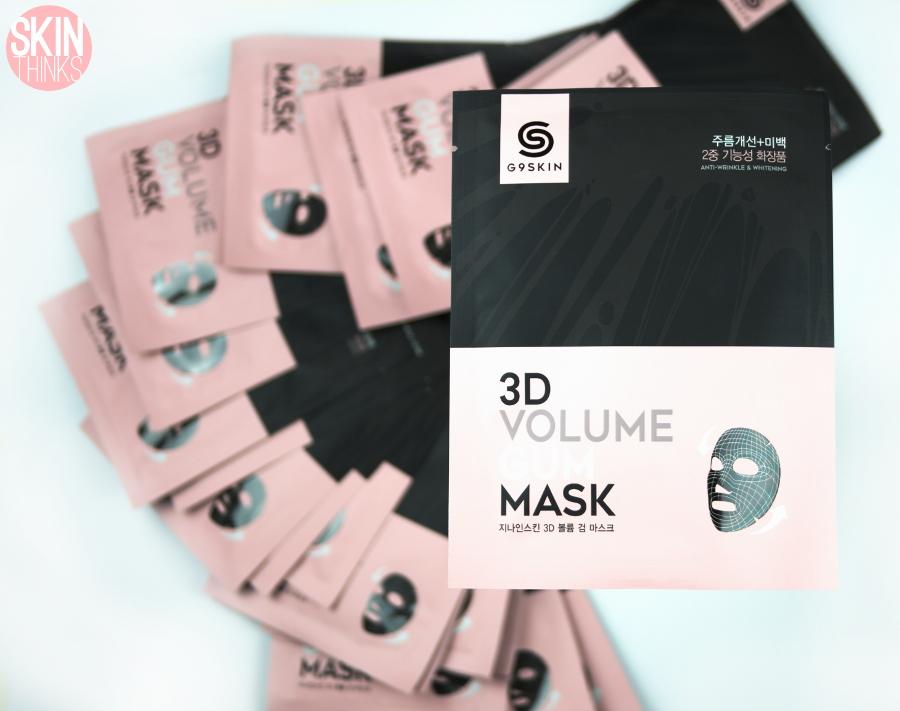 G9SKIN 3D Volume Gum Mask Mascarilla Coreana Anti-Edad