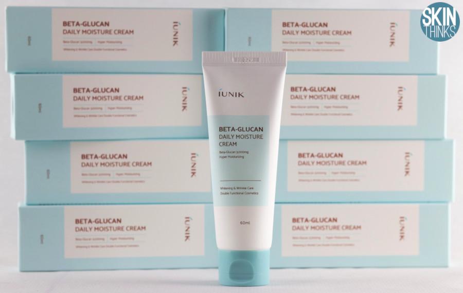 iUnik Beta Glucan Daily Moisture Cream Crema Hidratante y Calmante