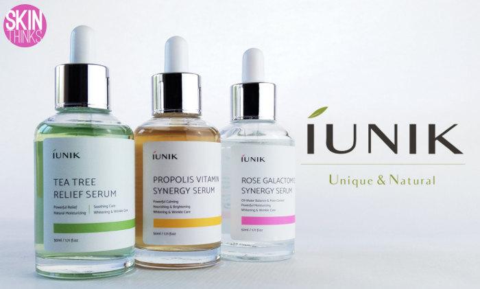 Iunik, Cosmética Coreana gama de serums en Skin Thinks