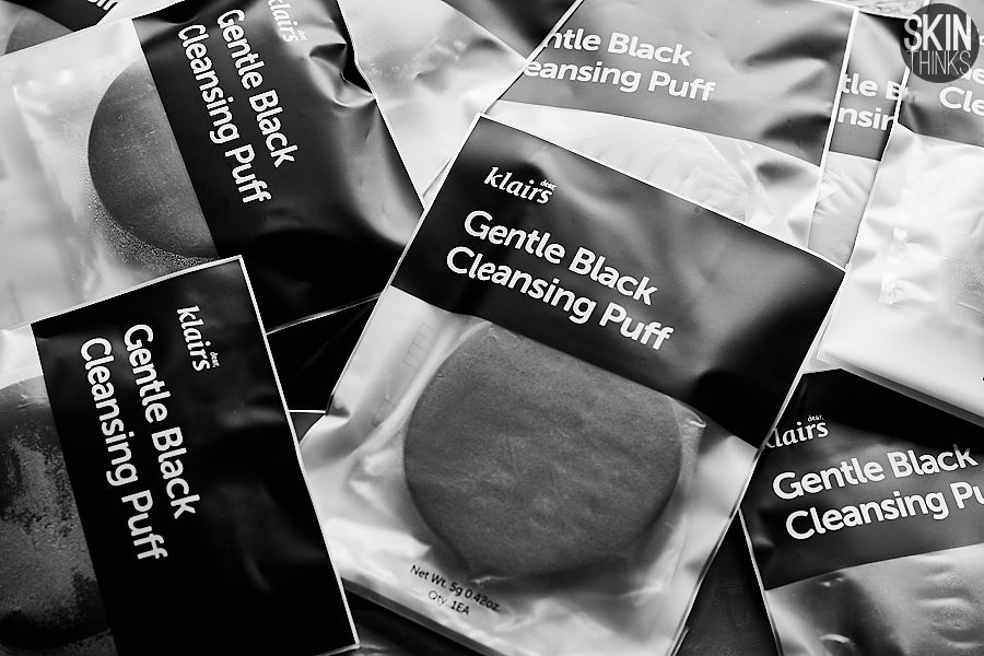 Klairs Gentle Black Cleansing Puff Esponja Facial