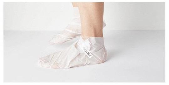 Missha Paraffin Heating Foot Mask - Mascarilla hidratante y reparadora para pies