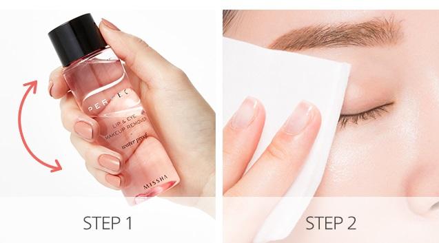 Desmaquillante Ojos y Labios Missha Perfect Lip & Eye Make-up Remover (Water-Proof)