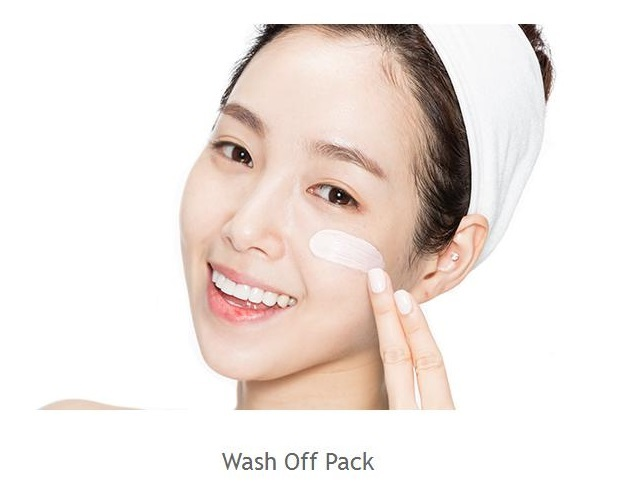 Missha Mascarilla coreana de granada Pocket Pack Wash Off Pomegrenate