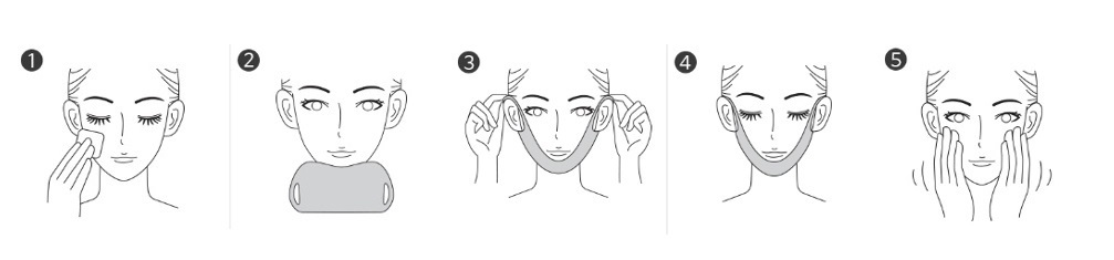 Parche reafirmante Ovalo facial Missha Speedy Splution Lifting Patch