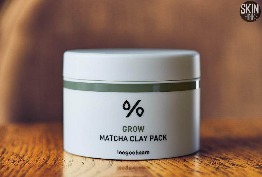 Leegeehaam Grow Matcha Clay Pack Mascarilla Wash-off