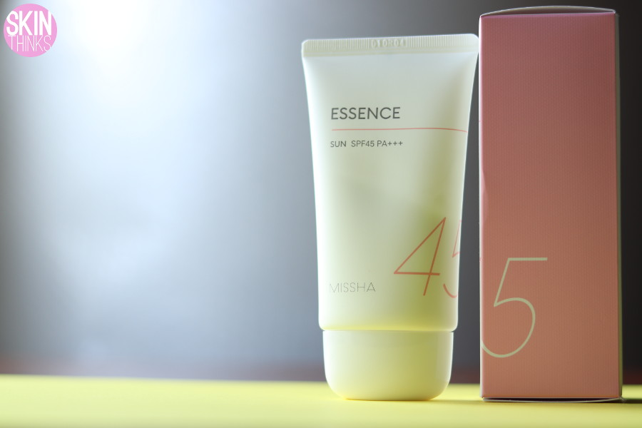 Missha All Around Safe Block Essence Sun SPF45/PA+++ - Crema de Protección Solar Alta