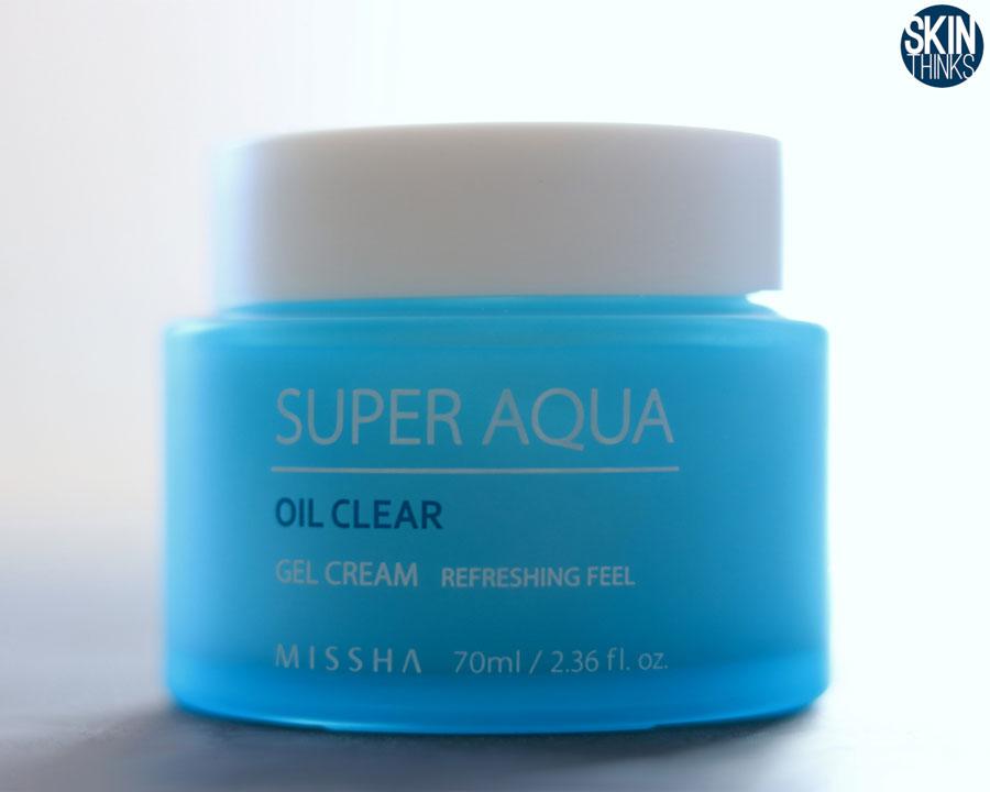 MISSHA Super Aqua Oil Clear Gel Cream Crema Hidratante para piel grasa