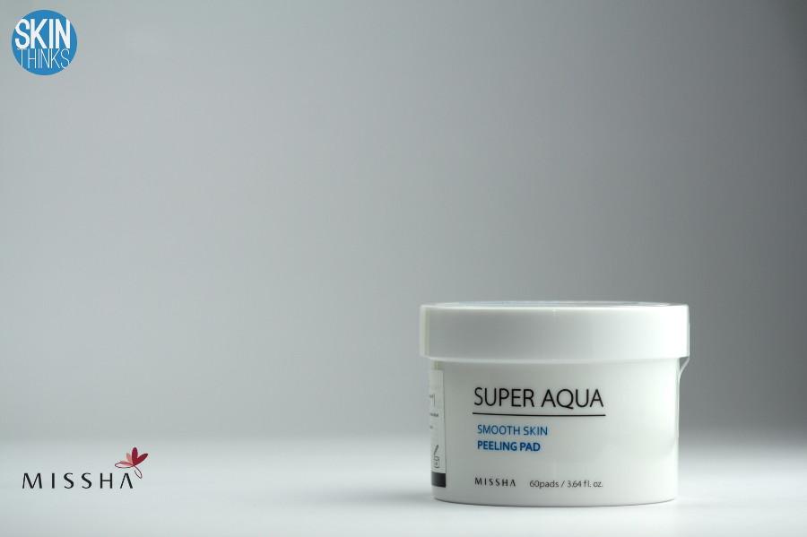 MISSHA Exfoliante Facial Super Aqua Smooth Skin Peeling Pad