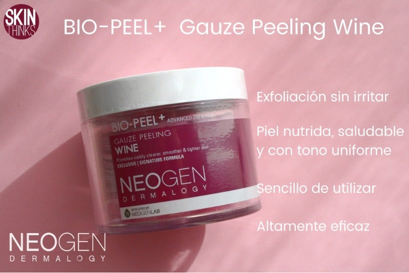 Neogen Dermalogy Bio Peel Gauze Peeling Wine Cosmética Coreana