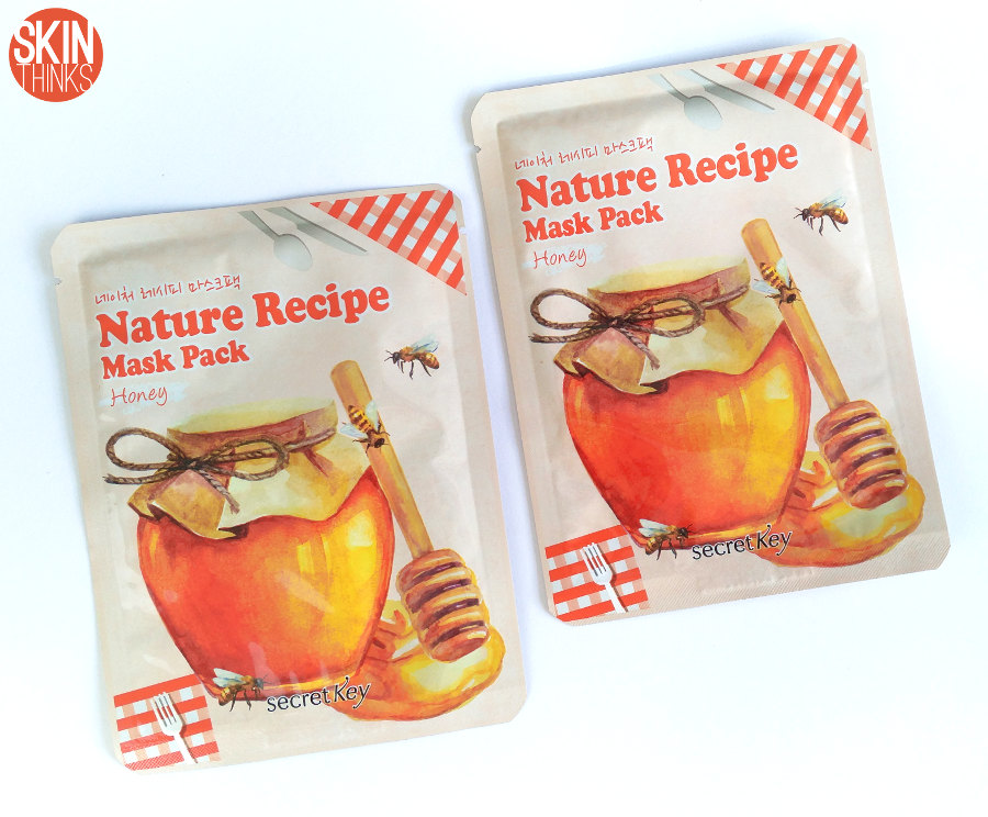 Secret Key Nature Recipe Mask Honey Mascarilla Reafirmante y Nutritiva