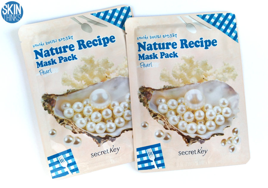 Secret Key Nature Recipe Mask Pearl Mascarilla Iluminadora