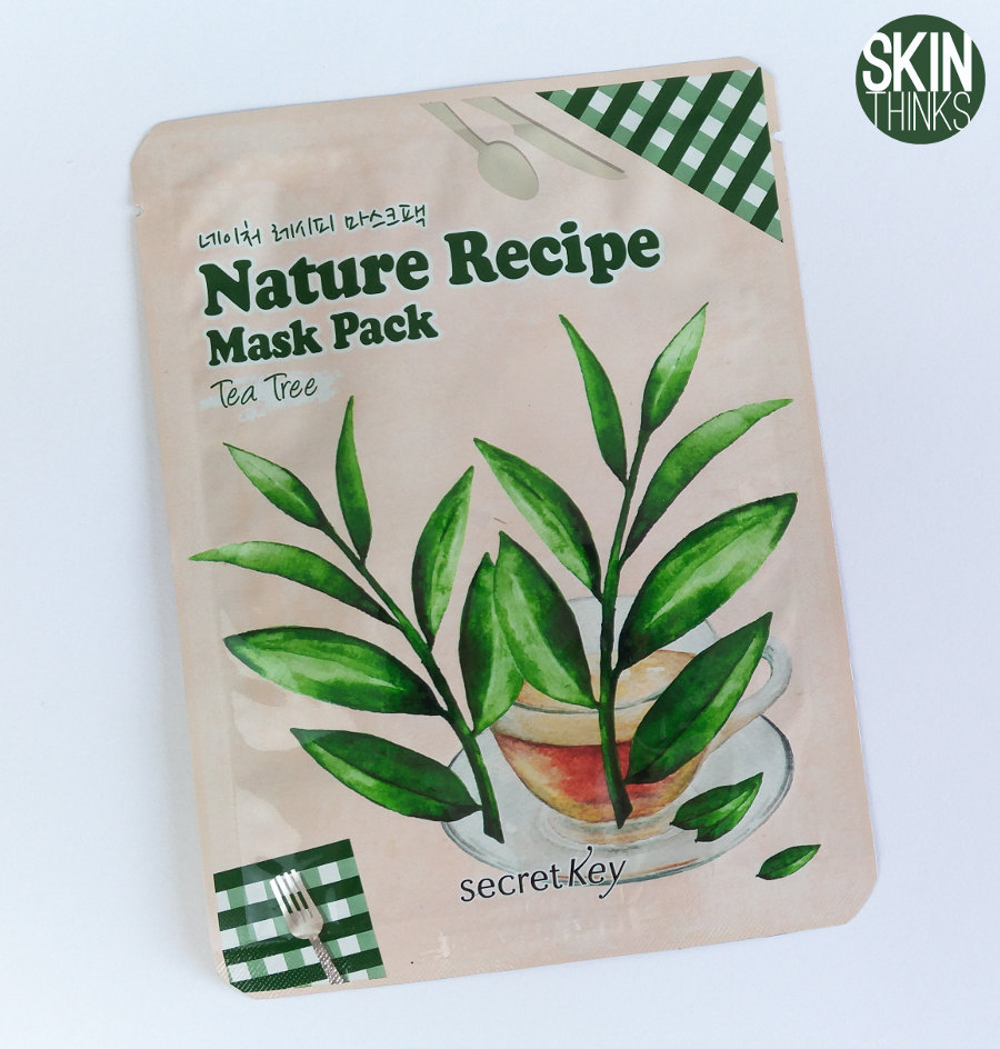 Secret Key Nature Recipe Mask Tea Tree