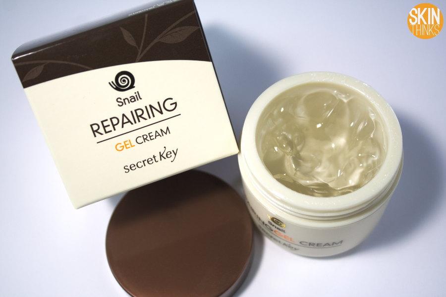 Secret Key Snail Reparing Gel Cream Crema Hidratante y Regenerante