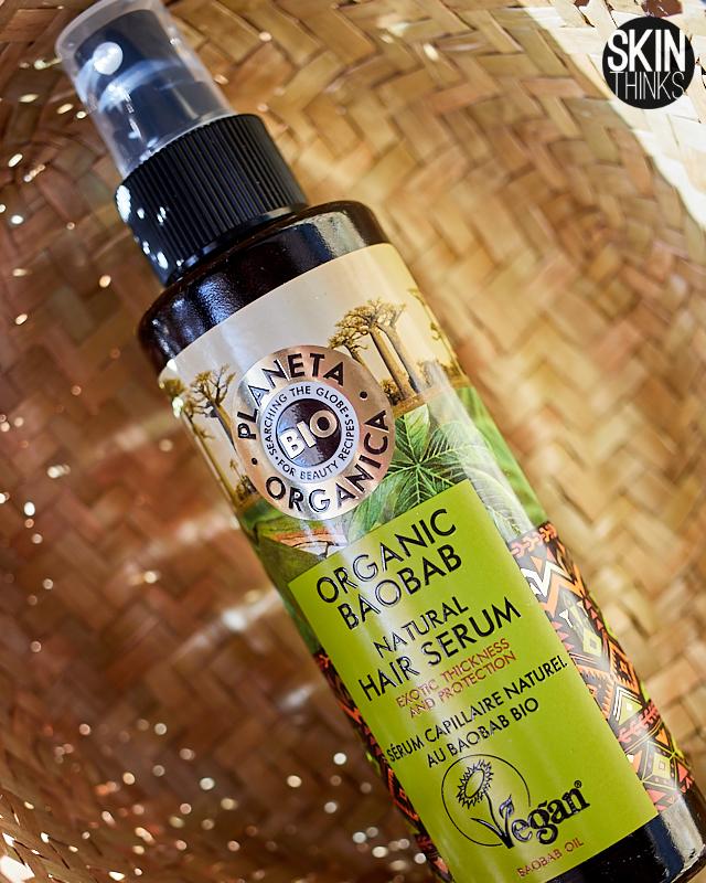 Serum Capilar Orgánico Organic Baobab Natural Hair Serum de Planeta Orgánica