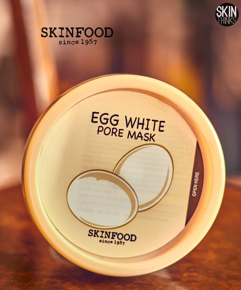 Skinfood Egg White Pore Mask Mascarilla Anti Puntos Negros