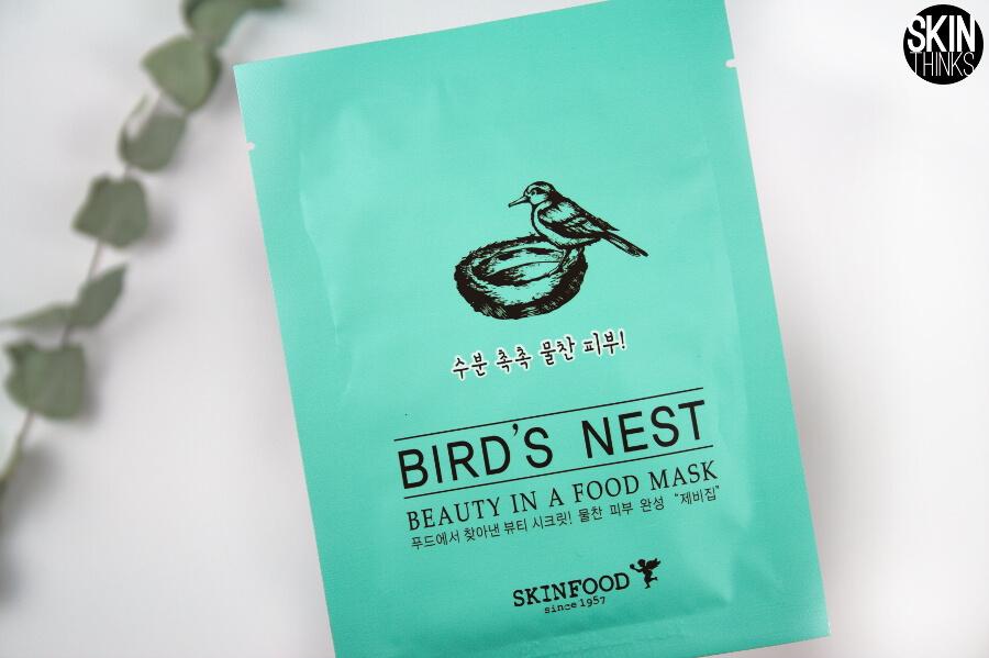 Mascarilla Facial Coreana Hidratante SKINFOOD Beauty in a Food Mask Bird´s Nest