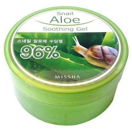 Gel de Aloe Vera con extracto de caracol