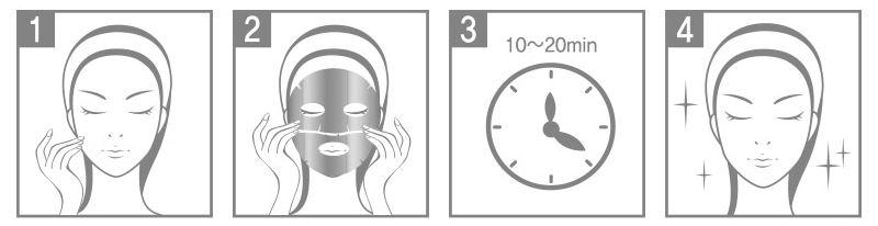 Mascarilla Coreana con äcido Hialurónico Berrisom Face Wrapping Mask Hyaluronic Solution 80